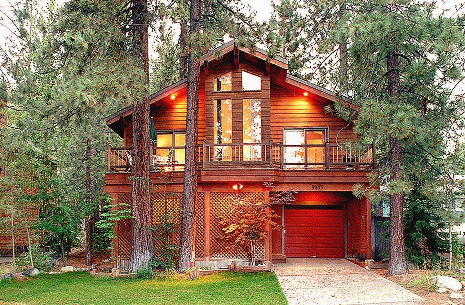 rentals pool log romantic for in cabins rent south with cabin lake indoor tahoe
